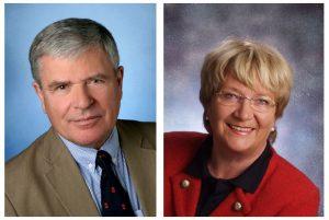 Aktiv vor Ort: Gerd Bischoff und Karin Gillardon, FDP/Bürgerliste
